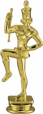 "Gold 5"" Majorette Trophy Figure"