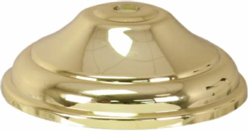 "3 5/16"" Gold Plastic Lid for Cup RP90806"