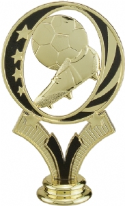 "Gold 5"" Soccer  MidNite Star Trophy Figure"