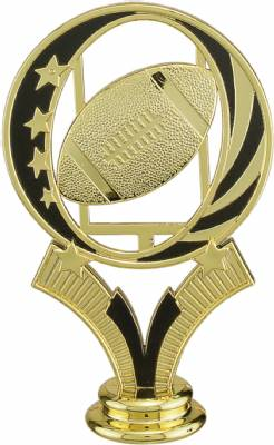 "Gold 5"" Football MidNite Star Trophy Figure"