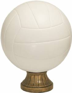 "5 1/2"" Color Volleyball Resin"