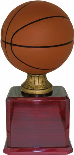 "17 1/2"" Color Basketball Resin Trophy Kit"