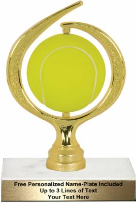 "6 3/4"" Spinning Soft - Tennis Trophy Kit"
