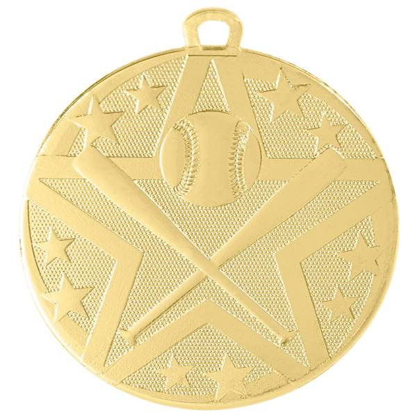 "2"" Baseball / Softball StarBurst Series Medal #2"