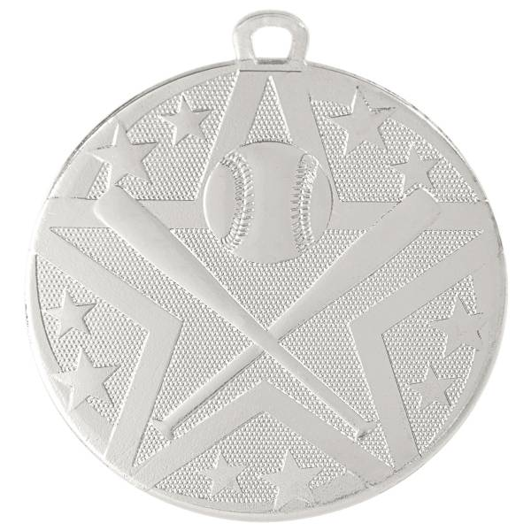 "2"" Baseball / Softball StarBurst Series Medal #3"