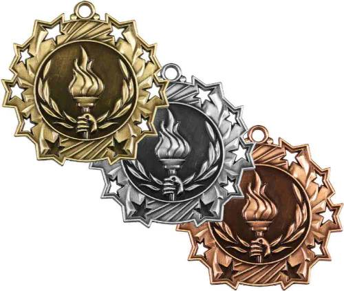 Ten Star Series Victory Torch Award Medal