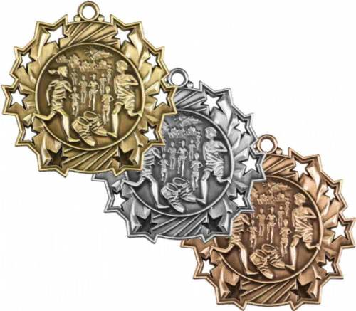 Ten Star Series Cross Country Award Medal