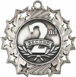 Ten Star Series 2nd Place Award Medal