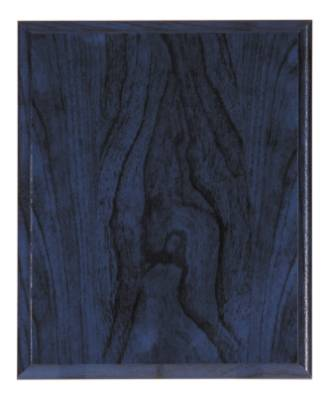 12 X 15 Blue Woodgrain Finish Plaque Blank