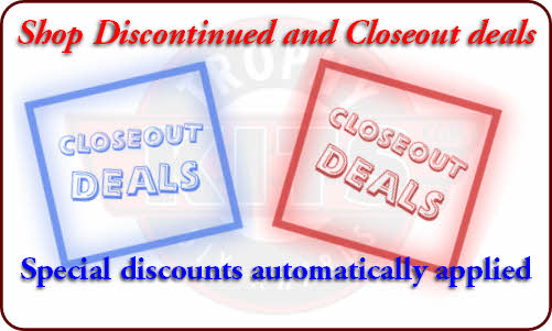 Closeout Award Deals