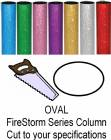 Oval FireStorm Trophy Column - Cut to Length