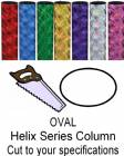 Oval Helix Trophy Column - Cut to Length