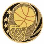 "2"" Basketball MidNite Star Series Trophy Insert"