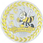 "2"" Metallic Spelling Bee Mylar"