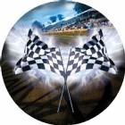 "Racing Flag 3D Graphic 2"" Insert"