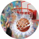 "Basketball Male 3D Graphic 2"" Insert"