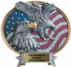 "Eagle USA - Legend Series Resin Award 8 1/2"" x 8"""