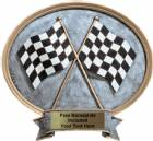 "Racing - Legend Series Resin Award 8 1/2"" x 8"""
