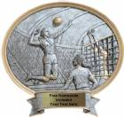 "Volleyball Female - Legend Series Resin Award 8 1/2"" x 8"""