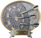 "Dart - Legend Series Resin Award 8 1/2"" x 8"""