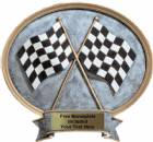 "Racing - Legend Series Resin Award 6 1/2"" x 6"""