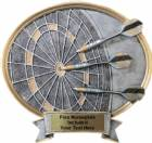 "Dart - Legend Series Resin Award 6 1/2"" x 6"""