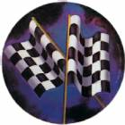 "Racing Flags 2"" Holographic Insert"