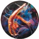 "Female Gymnastics 2"" Holographic Insert"