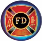 "Fire Department 2"" Holographic Insert"