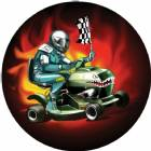 "Lawn Mower Racing 2"" Holographic Insert"