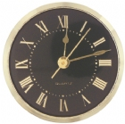 Gold Roman Black - Face Clock for Plaques and Projects