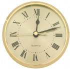 Roman Gold - Face Clock for Plaques and Projects