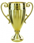"Gold 6 1/8"" Plastic Trophy Cup"