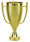 "Gold 5 3/4"" Plastic Trophy Cup"