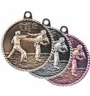 High Relief Karate Award Medal