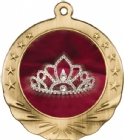 Tiara Award Medal with Color Insert