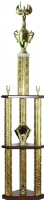 "48"" Post Set trophy kit 3 Column 2 Tier"