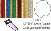 Round Inferno Trophy Column - Cut to Length