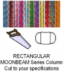Rectangular Moonbeam Trophy Column - Cut to Length