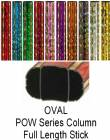 "Oval POW Series Trophy Column Full 45"" stick"
