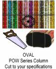 Oval POW Series Trophy Column - Cut to Length