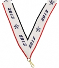 "1 1/2"" X 32"" 2013 Neck Ribbon with Snap Clip"