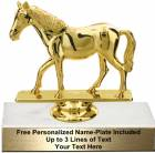 "4 1/4"" Quarter Horse Trophy Kit"