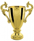 "Gold 5"" Plastic Trophy Cup"