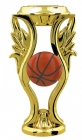"Gold  5"" Color Basketball Trophy Riser"