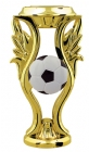"5"" Gold with Color Soccer Trophy Riser"