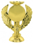 "Gold 5"" Eagle Trophy Riser with 2"" insert holder"