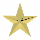 "3"" Plastic Star Plaque Mount"