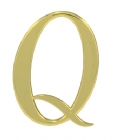 "3"" Plastic Q Quality Plaque Mount"