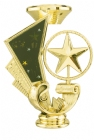 "5"" Star Spinning Trophy Riser"